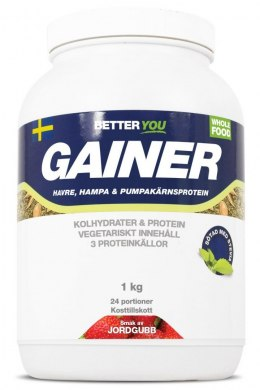 Organic Vegan Gainer, 1 kg, Better You